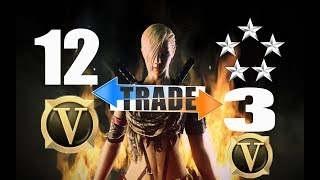 Download Crossfire PH Account 2 Bar 12 VIP trade to 5 Stars 3 VIP 12 Lotto Guns Video