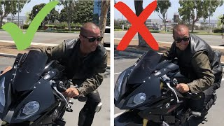 Download How To Get Your Knee Down On A Sport Bike! Video