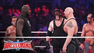 Download Shaquille O'Neal enters the 3rd annual Andre the Giant Memorial Battle Royal: WrestleMania 32 Video