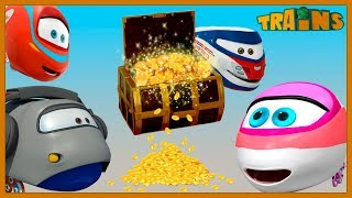 Download My Red Train / TRAINS Cartoon / New Episode / Drought / Trains Cartoon for Children Video