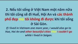 Download Vietnamese Grammar: #5 Three things THAT I would do Video