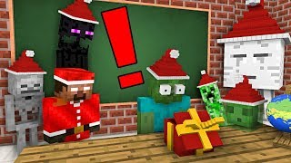 Download Monster School: EPIC CHRISTMAS PRESENT - Minecraft Animation Video