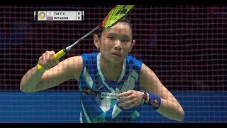 Download Yonex All England Open 2017 | Badminton F M5-WS | Tai Tzu Ying vs Ratchanok Intanon Video