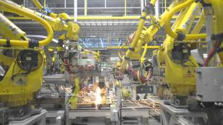 Download Car Factory - Kia Sportage factory production line Video