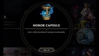 Download Honor LoL CAPSULE OPENING | And 2 Hextech Chests & 1 Great Orb from Arcade Boss World Crafting! Video