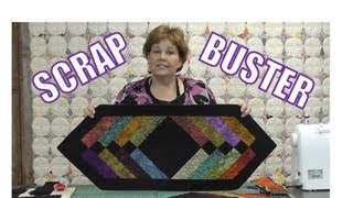 Download Scrap Buster! Make Easy Table Runner Using the Binding Tool! Video