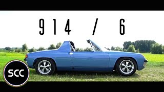 Download PORSCHE 914/6 1971 - Full test drive in top gear | SCC TV Video