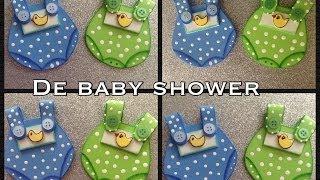 Download RECUERDOS DE BABY SHOWER PARA NIÑO EN FOAMY O GOMA EVA. Video