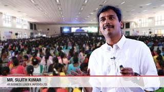 Download Motivational Speech by Sujith Kumar | Infosys | ICTACT Youth Summit 2015 Video
