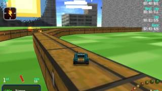 Download Re Volt Custom Track Minecraft Track Ground) by QJN, 12 Cars 8 Laps & Pickups! Video