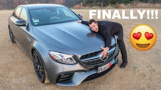 Download FINALLY!!! TAKING DELIVERY OF MY 2018 MERCEDES AMG E63S Video