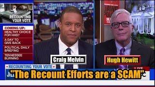Download Hugh Hewitt on Jill Stein Recount Effort - ″It's a SCAM″ Video