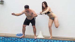 Download DEU RUIM CUMPRIR O DESAFIO NA PISCINA Video