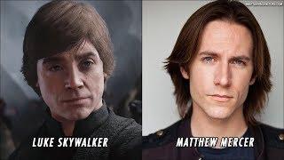 Download Star Wars Battlefront 2 Characters Voice Actors Video