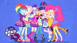 Download MLP: Equestria Girls - Rainbow Rocks ″Friendship Through the Ages″ SING-ALONG Video