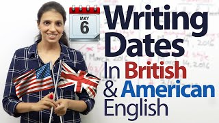 Download Writing the Date in American English & British English – Free English lessons Video