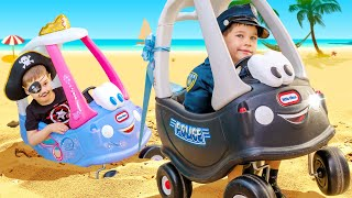 Download Jailbreak and stucking in the sand on TOY CAR. Video