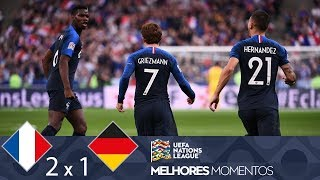 Download FRANÇA 2 X 1 ALEMANHA - MELHORES MOMENTOS - UEFA NATIONS LEAGUE (16/10/2018) Video