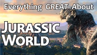 Download Everything GREAT About Jurassic World! Video