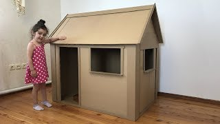 Download A kids house Out of Cardboard Box Video
