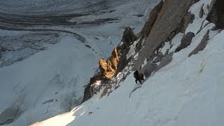 Download #2 Eperon Tournier Direct Face Nord des Droites Chamonix Mont-Blanc alpinisme - 10292 Video