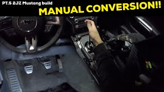 Download Pt.5 | 2JZ 2015 Ford Mustang Build! ( Manual Conversion ) Video