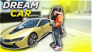 Download SURPRISING EX GIRLFRIEND WITH HER DREAM CAR BMW i8!!! (VERY EMOTIONAL) Video