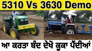 Download JOHNDEERE 5310 VS NEW HOLLAND 3630 SPECIAL EDITION DEMO Video