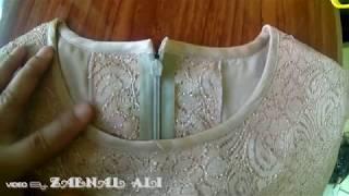 Download Belajar pasang bisban leher baju Video