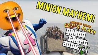 Download Annoying Orange Plays - GTA Minion Mayhem! Video