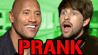 Download The Rock Interview PRANK Video