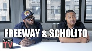 Download Freeway on Taking his Name from Freeway Ricky Ross, Rapping for Jay Z Video