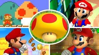Download Evolution of Mega Mushrooms in Mario Games (2000-2017) Video