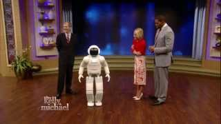 Download ASIMO on LIVE with Kelly and Michael Video