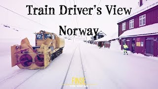 Download Train Driver's View: Morning express from Bergen bound for Oslo Video