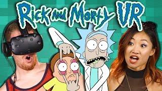 Download RICK AND MORTY VR: VIRTUAL RICK-ALITY - Part 1 (REACT: Gaming) Video