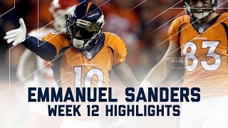 Download Emmanuel Sanders Racks Up 162 Yards & 1 TD! | Chiefs vs. Broncos | NFL Week 12 Player Highlights Video
