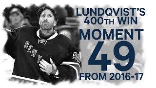 Download No 49/100: Lundqvist's 400th win Video