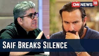Download Can't Compare Bollywood's MeToo Movement To Hollywood's: Saif Ali Khan Exclusive With Rajeev Masand Video