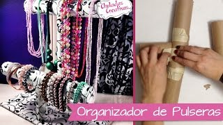 Download Chuladas Creativas :: Porta Pulseras Relojes y Collares :: Manualidades Video