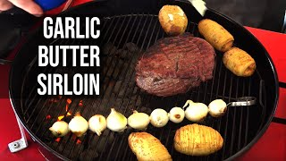 Download Garlic Butter Beef with Slit Roasted Potatoes Video