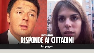 Download Matteo Renzi risponde alle domande dei cittadini su Equitalia, tasse, referendum, scuola e immigrazi Video
