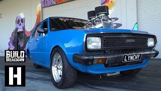 Download WILDEST Burnouts Ever, in a 600hp Corolla!? Lynchy Goes Insane With Help from ULEGAL Video