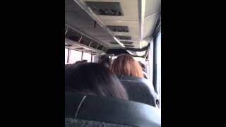 Download Greyhound Bus Driver gets very cranky Video