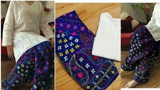 Download Latest phulkari shalwar designs 2018, Hand Embroidery,Eid Collection 2018 Video