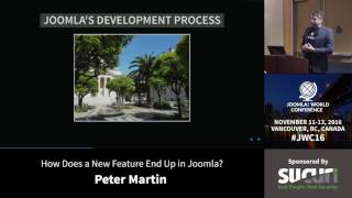 Download JWC 2016 - How does a new feature end up in Joomla? - Peter Martin Video