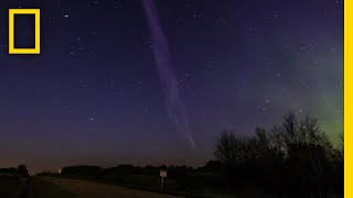 Download Purple Streak Named 'Steve' Is a Whole New Type of Aurora   National Geographic Video