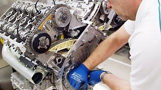 Download ► Bentley Factory - W12 Engine Video