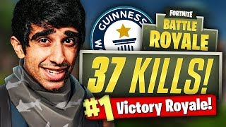 Download WORLDS FASTEST GAME! - 37 Kill Fortnite Battle Royale Video