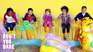 Download We Challenged Little Kids Not to Move! | Don't You Dare | HiHo Kids Video